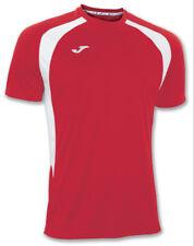 JOMA CHAMPION III SHORT SLEEVED FOOTBALL SHIRT - RED / WHITE - 4XS-3XS (7-10YRS)