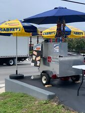 Mobile Hot Dog Cart, everything pictured is included