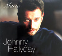 Johnny Hallyday ‎CD Single Marie - Limited Edition - France (EX/VG+)