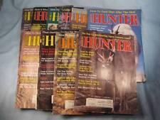 10 American Hunter Magazines Sport June 1986 - April 1987 Outdoors (O)