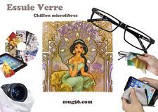 aladdin disney #3 essuie verre chiffon microfibres lunettes téléphone