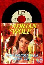 Single Adrian Wolf vino Valpolicella Aura Lee