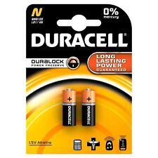 2x Genuine Duracell LR1 N Size 1.5V Alkaline Batteries MN9100 Battery