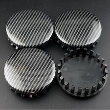 4pcs 83mm Carbon Fiber Style Wheel Center Caps Cover for 2005-2017 Yukon Denali