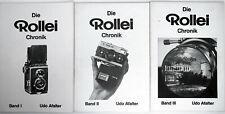 ✮ Die Rollei Chronik Band I-II-III von Udo Afalter **TOP**// vom Händler!