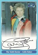 Doctor Who Series One Colin Baker as The 6th Doctor A3 Auto Card