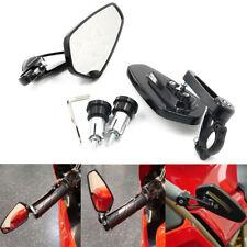 "CNC 7/8"" 22mm Bar End Rearview Mirror For Honda GROM MSX 125 Yamaha Kawasaki BMW"