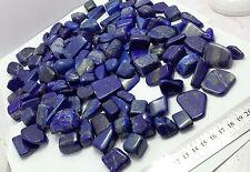 Grad A Quality Royal Blue Lapis Lazuli round tumble 2000 grams lot for sale