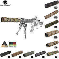 "Emerson Tactical 8"" 22 cm Suppressor Silencer Cover Airsoft Pouch Muffler Sleeve"