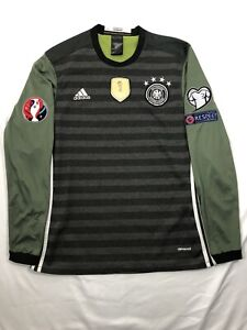 ADIDAS GERMANY FIFA 2014 World Cup Champions Football Soccer Reversible Jersey L