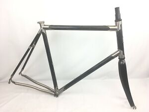 Seven Cycles 622 SLX Ultra-Butted Titanium & Carbon Frameset 57.5cm TT 25.3cm HT