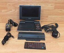 "Toshiba (SD-P1400) 7"" Region 1 Portable DVD Player w/ Power Supply Bundle"
