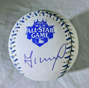 JOSE ALTUVE / AUTOGRAPHED 2012 ALL-STAR GAME MLB OFFICIAL BASEBALL / JSA COA