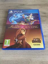 Disney Juegos Clásicos Aladdin Y El Rey León Sony Playstation 4 PS4