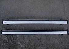 Thule ARB47 Aeroblade Crossbars + Podium 460R Rapid Foot Pack Roof Rack
