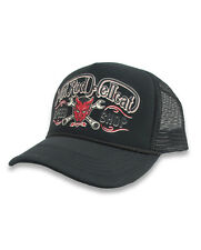 Hotrod Hellcat Herren DEVIL Black Kappe/Cap.Biker,Oldschool,Tattoo,Custom Style