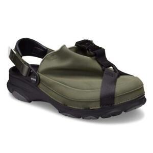 Crocs Beams exclusive Cobra Buckle Sandals Clog Japan limited olive