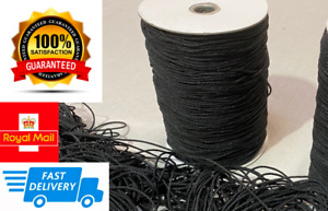 2mm Black Nylon Draw String Strong Piping Cord Waterproof Blind Round Tent Line
