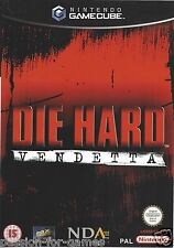 DIE HARD VENDETTA for Gamecube - with box & manual - PAL