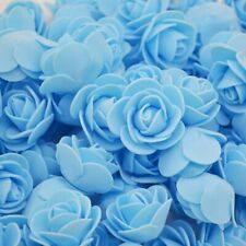 50PCS LOT ARTIFICIAL CRAFT PE FOAM ROSE FLOWERS WEDDING PARTY DIY ACCESSORIES
