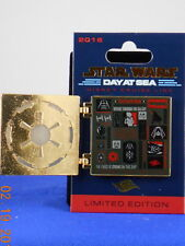 Disney DCL STAR WARS DAY AT SEA Imperial Collage Hinged 2016 LE 3000 Trading Pin