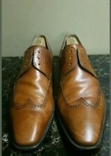 Magnanni Wingtip Oxford  Brown Size 11 M Dress Shoes