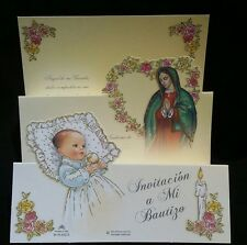 Invitaciones de,A Mi Bautizo(Spanish Baptism Christening invitations)FavorsParty
