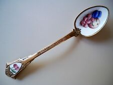 Ye Ole Antique Enamel and Bronze Colonial Spoon; Measures 5 inches & 20 Grams
