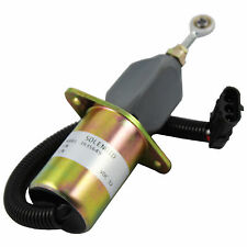 New Diesel Fuel Shut Off Solenoid For Ford Freighliner Motorhome 5.9L 8.3L 39356