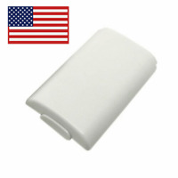 For Microsoft Xbox 360 White Rear Battery Cover Case Housing New Replacement