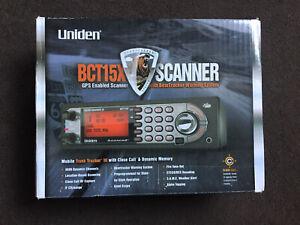 uniden bearcat scanner BCT15x Radio Tracker Warning Device American?