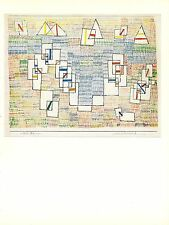 "1967 Vintage PAUL KLEE ""COTE DE PROVENCE 6"" LOVELY COAST COLOR offset Lithograph"