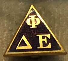1957 Delta Phi Epsilon Sorority Pledge Pin - Old Style