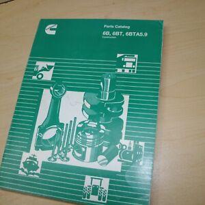 CUMMINS 6B 6BT 6BTA5.9 ENGINES Parts MANUAL book catalog spare list diesel spare