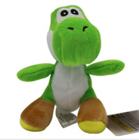 Super Mario Bros Yoshi Plush Doll Toy With Tag Soft Doll Kid's keychain 11cm