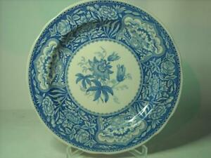 "Spode Blue Room FLORAL Blue & White 10.25"" 26cm Decorative or Dinner Plate"