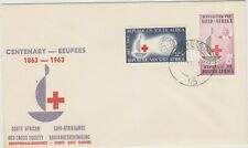 South Africa 1963 FDC Red Cross Centenary issue,good condition