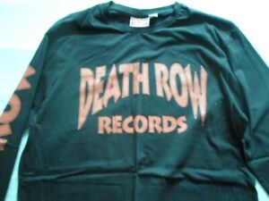 OFFICIAL DEATH ROW RECORDS LONG SLEEVE T SHIRT