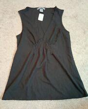 NWOT Women's Taylor Marcs Sleeveless Flattering Fit Shirt, Sz. Sm.