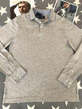 HACKETT LONDON - Polo Shirt (M Size M Slim Fit  (Grey Colour) - 149€