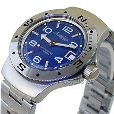 Vostok Amphibian, scuba diving, original design Russian watches amfibia #060432