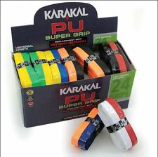 24 x Karakal PU Super DUO GRIP DI RICAMBIO-Tennis-Squash-Badminton