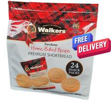 Walkers Premium Shortbread 24 Packs -  2 Biscuits Per Pack