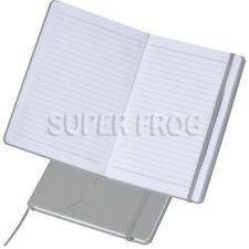 A5 Leather Hard Cover Lined Notebook Notepad Writing Pad Ruled Hardback Notes