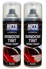 3 x Car Window AUTO SPRAY TINT Lights Body Aerosol Paint Tinting Black Smoke