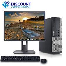 "Dell Optiplex Desktop Computer Core i5 3.1GHz 8GB 500GB Windows 10 Pro w/19"" LCD"