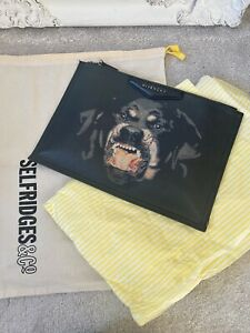 Givenchy Rottweiler Clutch Pouch Toiletry Bag - Limited Edition