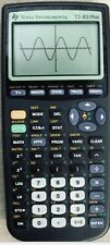 Texas Instruments TI-83 Plus Graphing Calculator Tested Working New Batteries