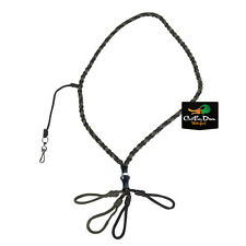 NEW TANGLEFREE 4 LOOP BRAIDED LANYARD WITH WHISTLE DROP DUCK GOOSE GAME CALL