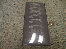 Campbell Road Dry Transfers  decals HO Grand Rapids Holland Chicago freigh  L144